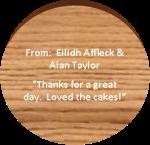 wood cookie